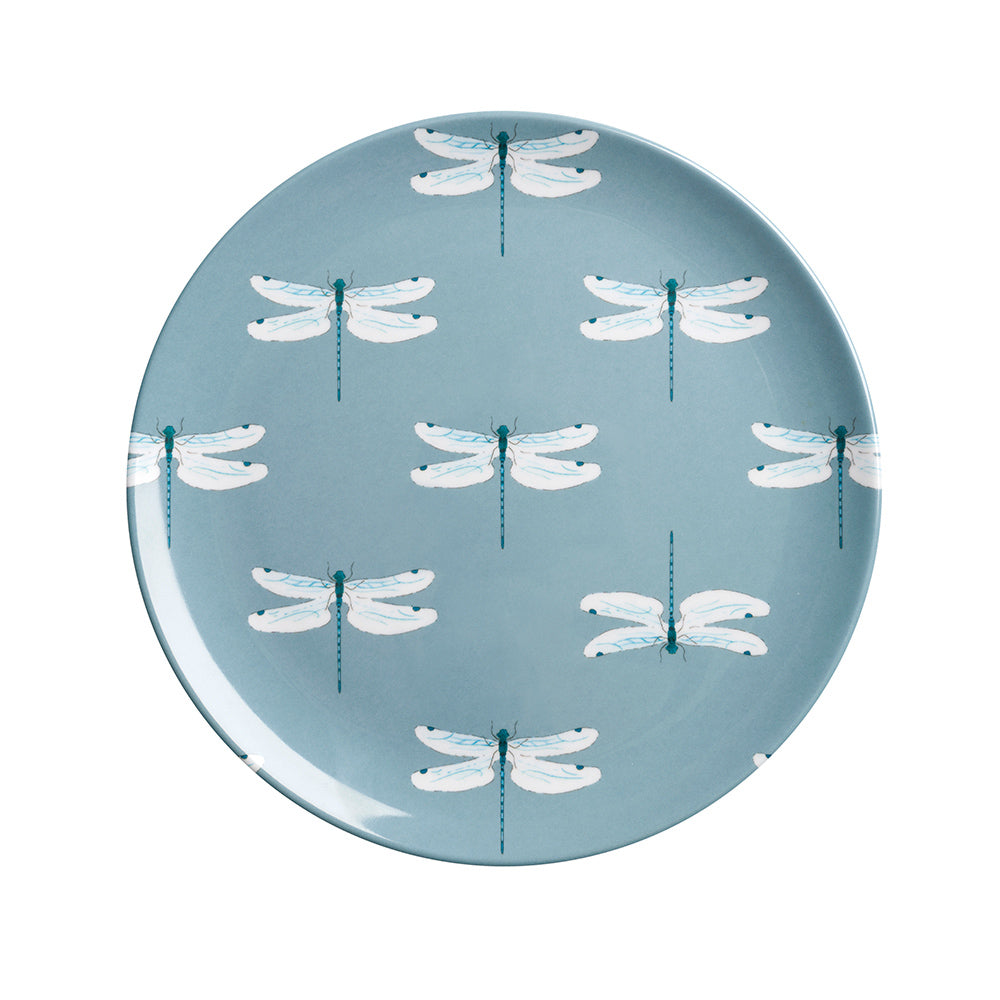 Dragonfly Melamine Side Plate