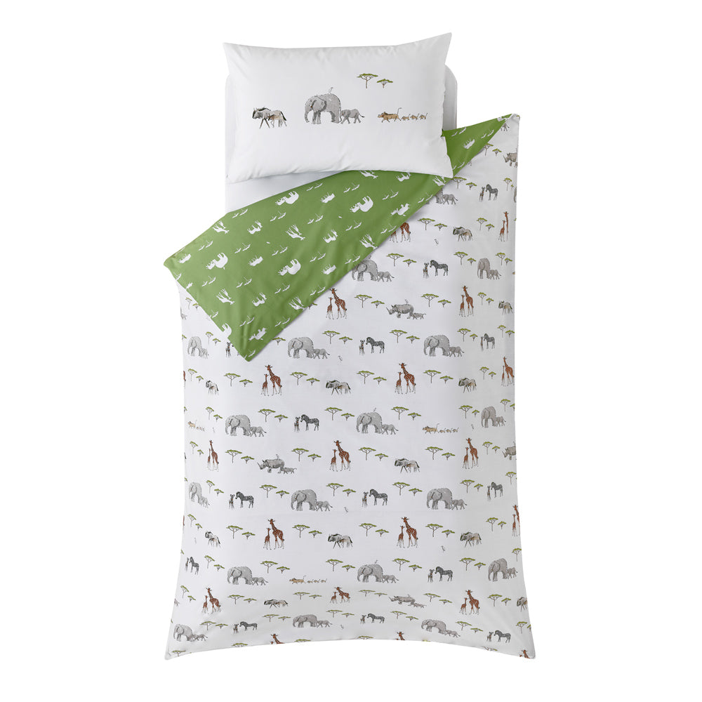 Kids Safari Bedding Set