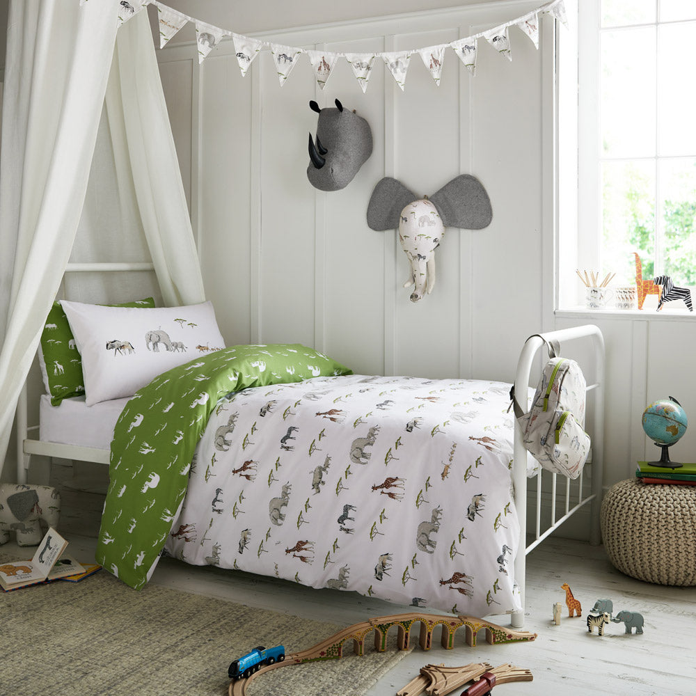 Safari Bedding Design by Sophie Allport