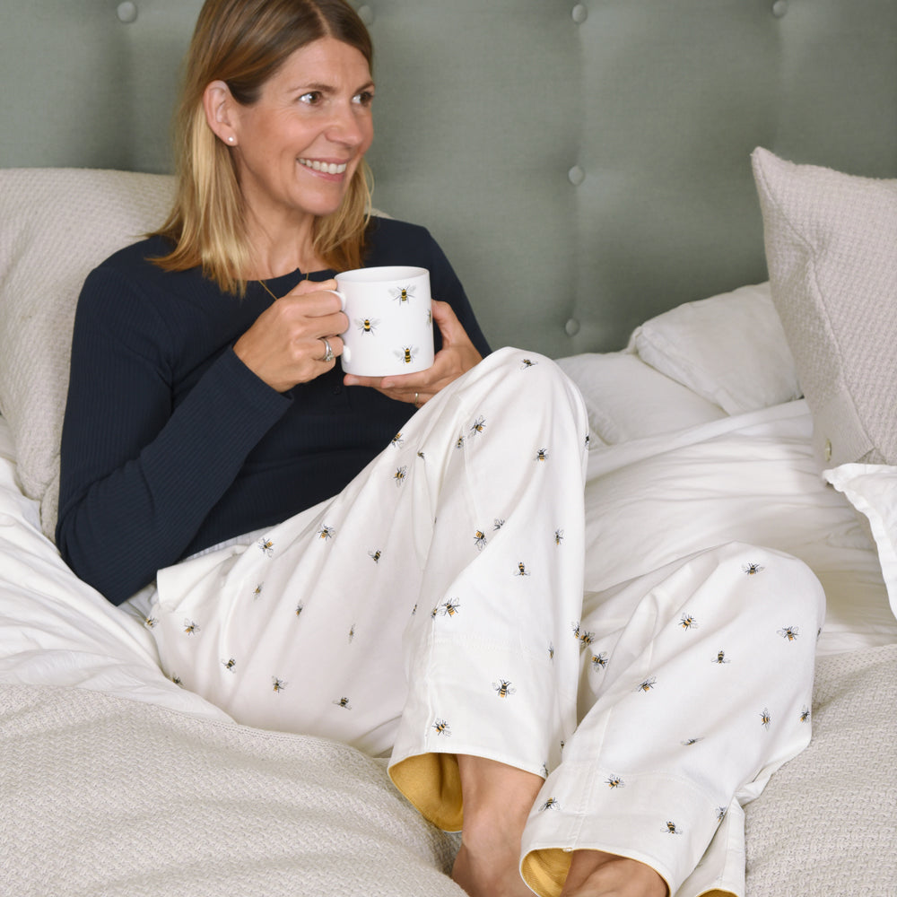 Sophie Allport Bees Ladies Pyjama Bottoms