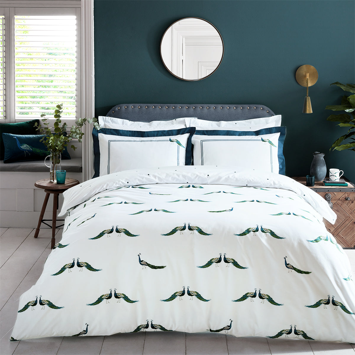 Peacocks Bedding Set