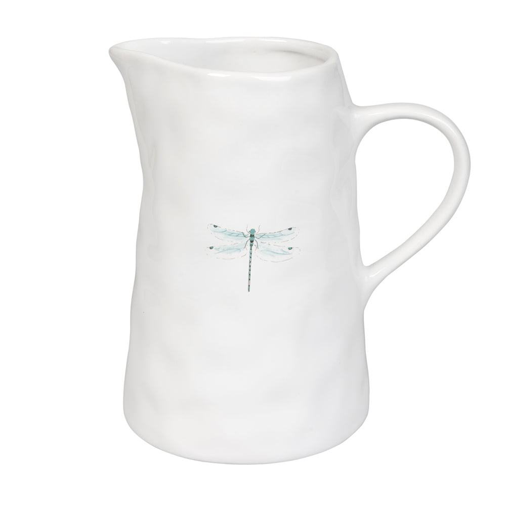 Dragonfly Dimpled Jug