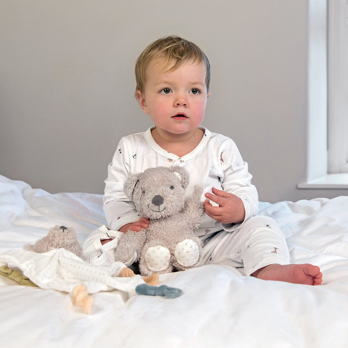 Bears & Balloons Baby Grow by Sophie Allport