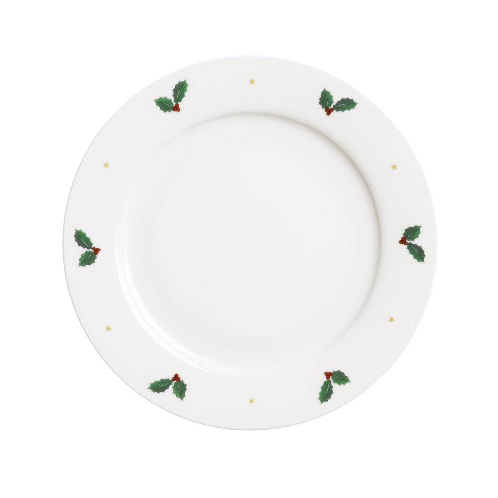Holly & Berry Side Plate