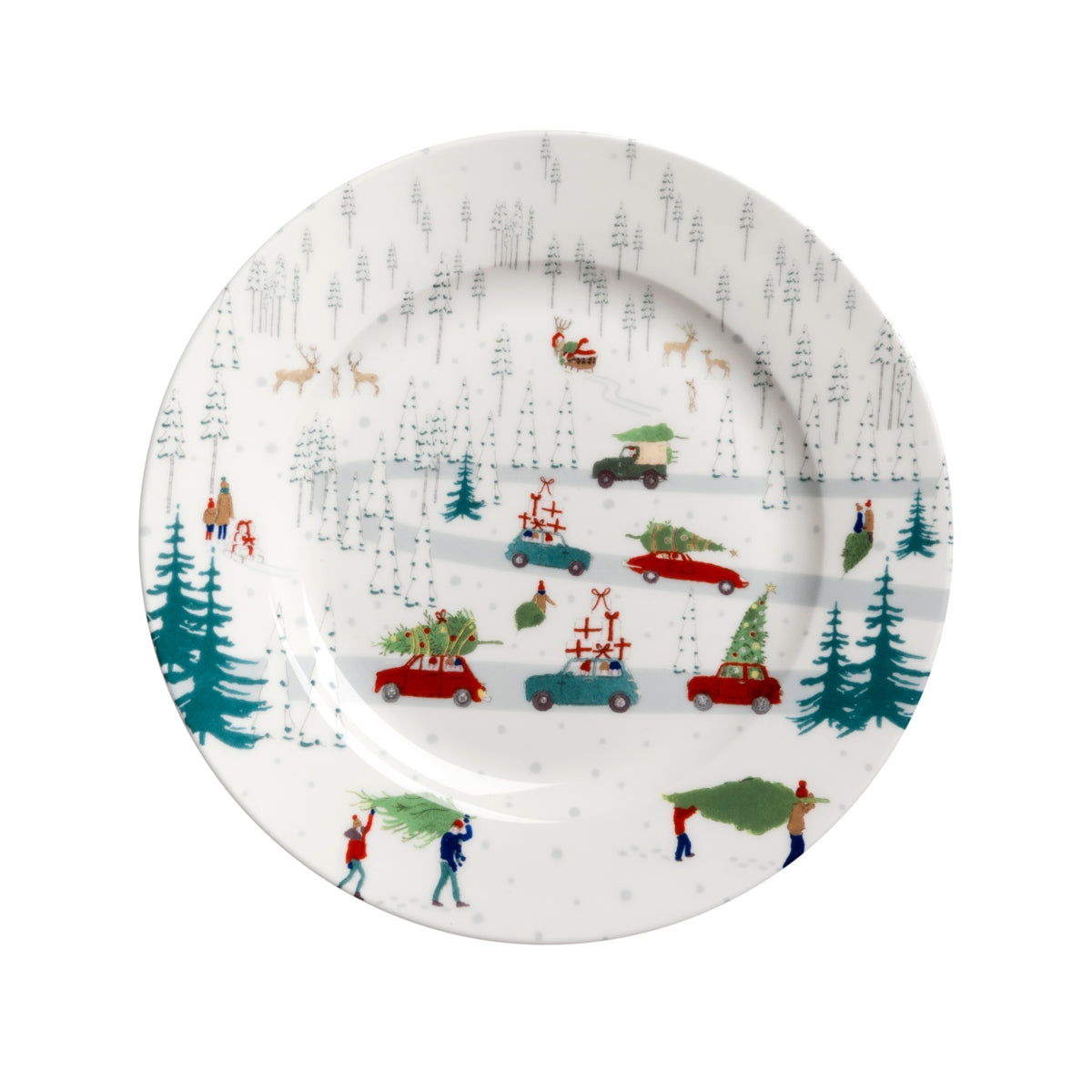 Home for Christmas Side Plate