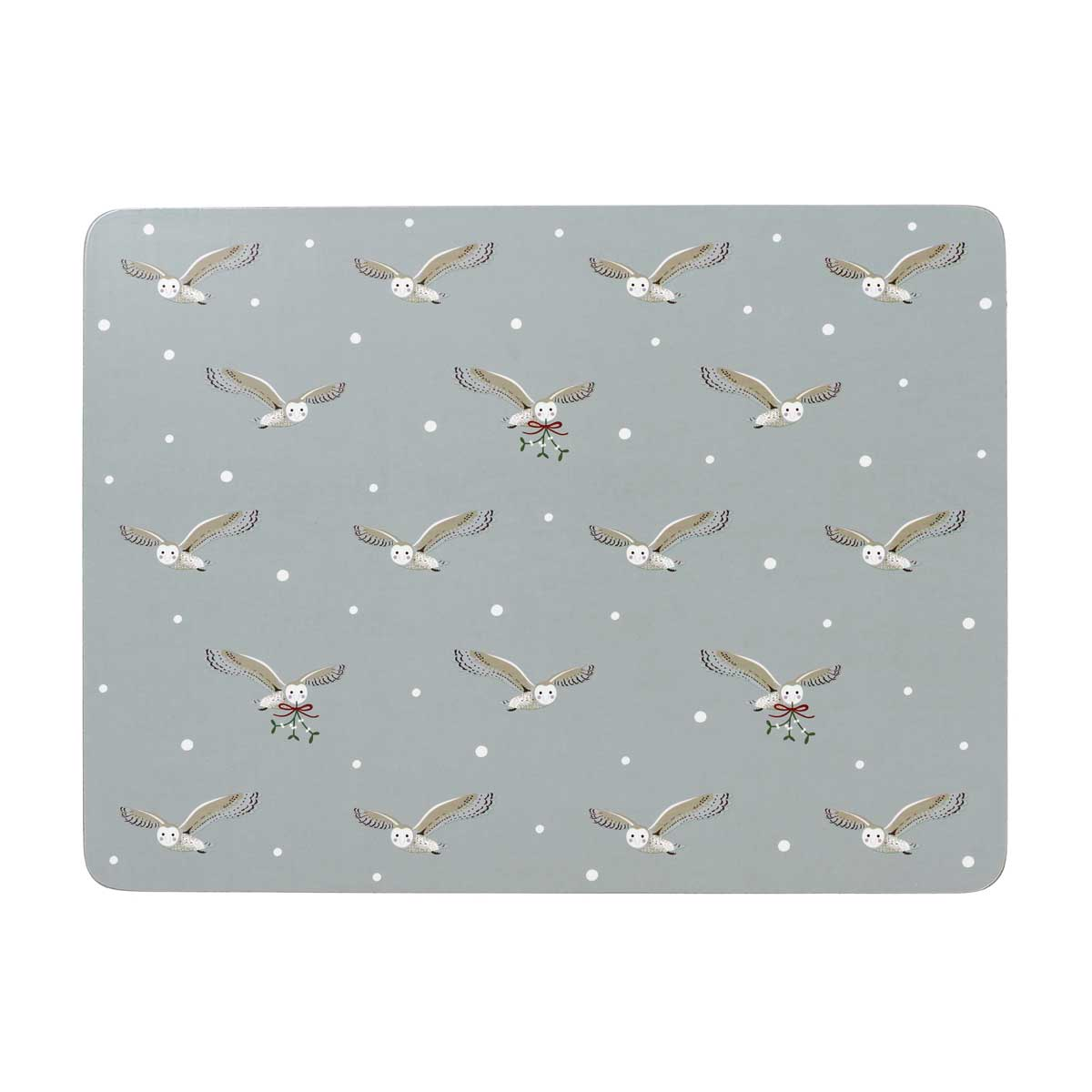 Night Owl Placemats - Set of 4