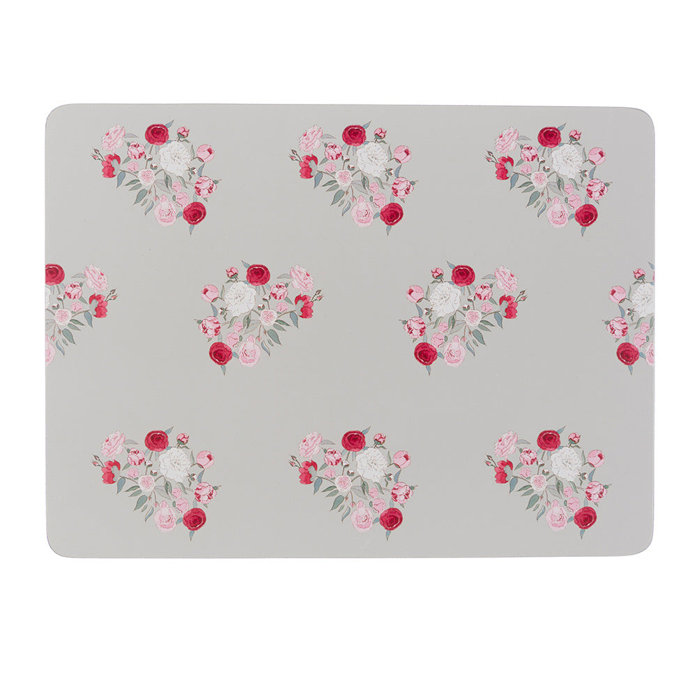 Peony Placemats (Set of 4)