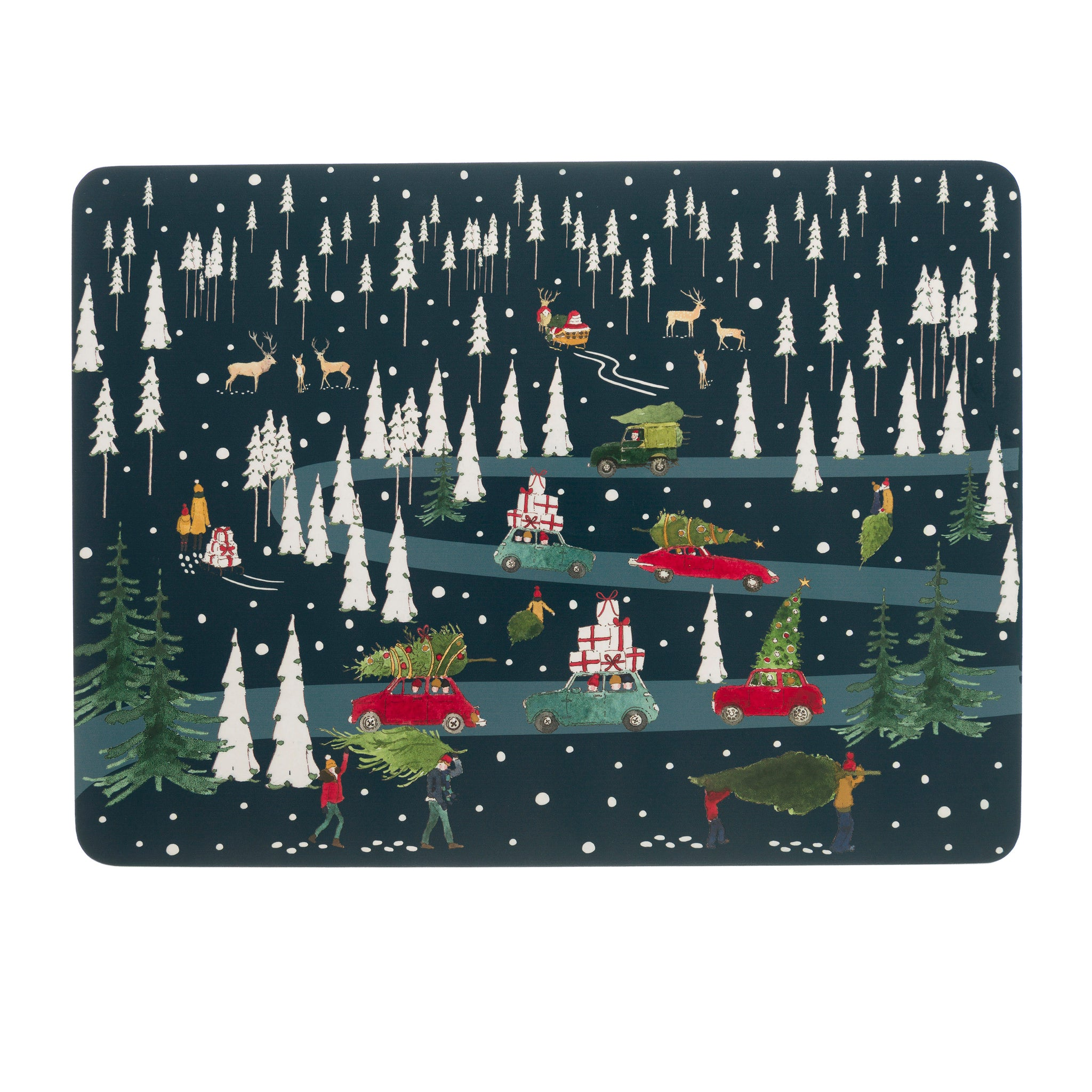 Home for Christmas Placemats (Set of 4)