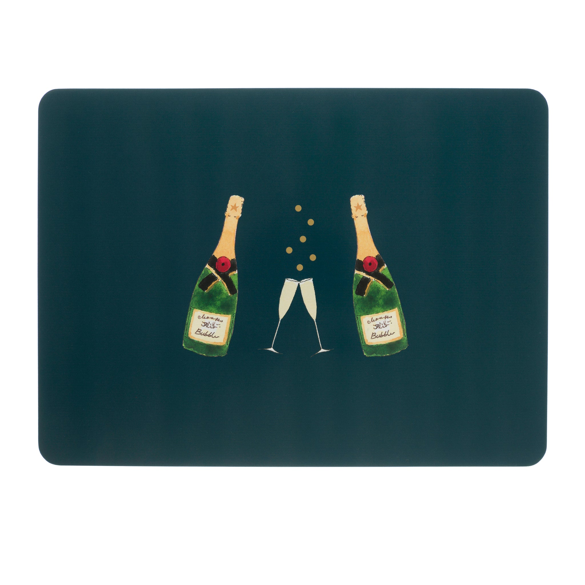 Bubbles & Fizz Placemats (Set of 4)