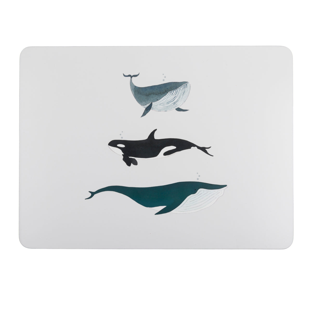 Whales Cork Place mats (set of 4) by Sophie Allport