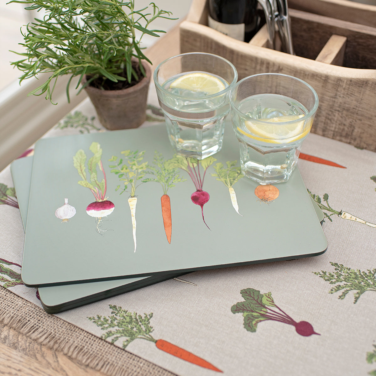 Home Grown Placemats (Set of 4)