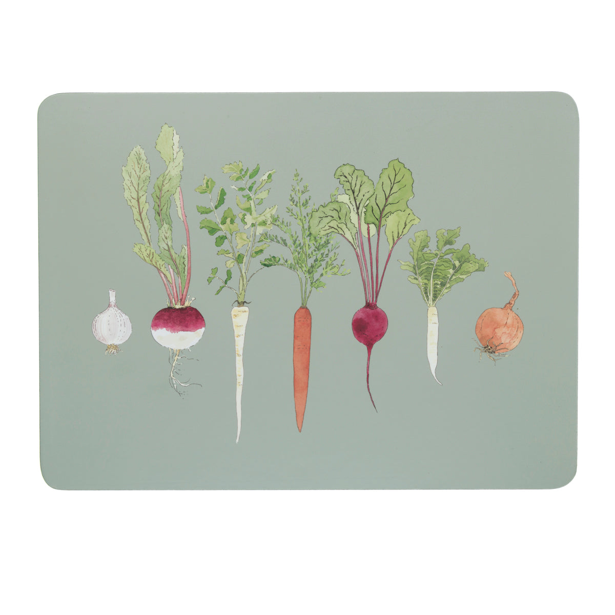 Home Grown Placemats (Set of 4) by Sophie Allport