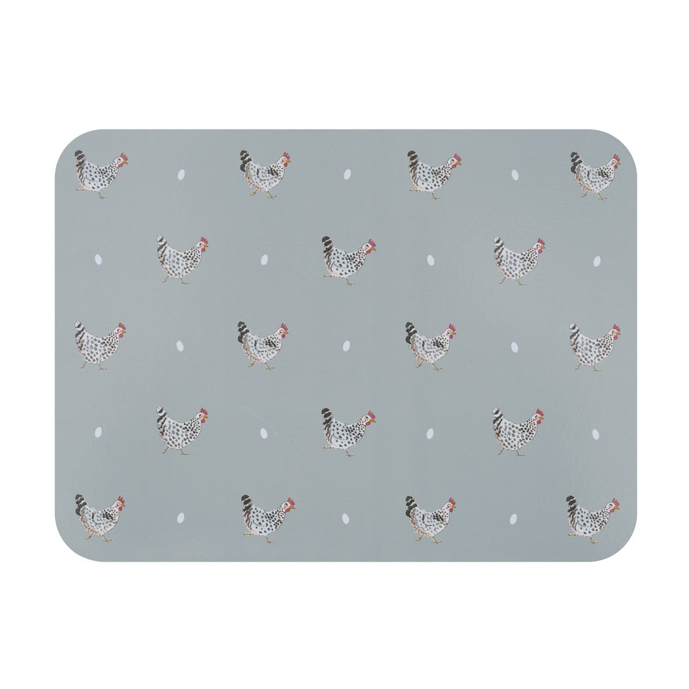 Chicken Placemats - Set of 4