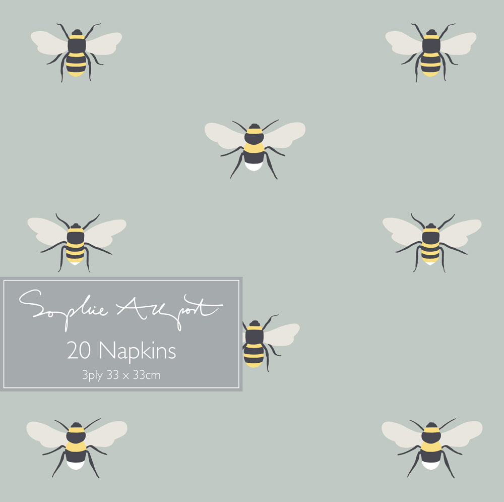 Bees Paper Napkins