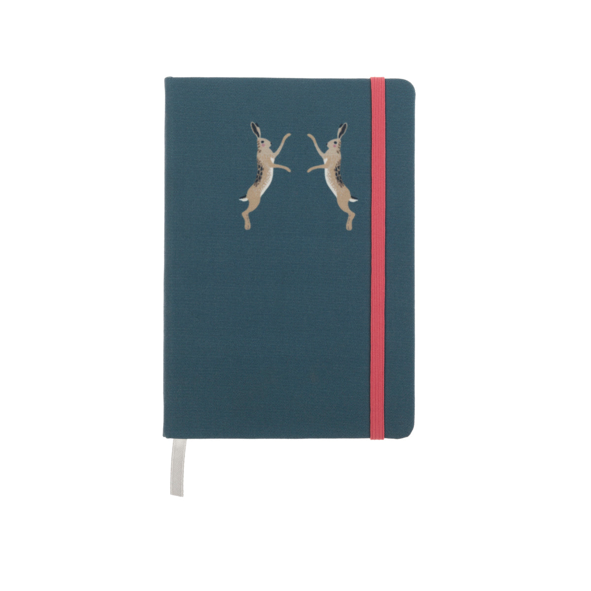 Hare Small Fabric Notebook by Sophie Allport