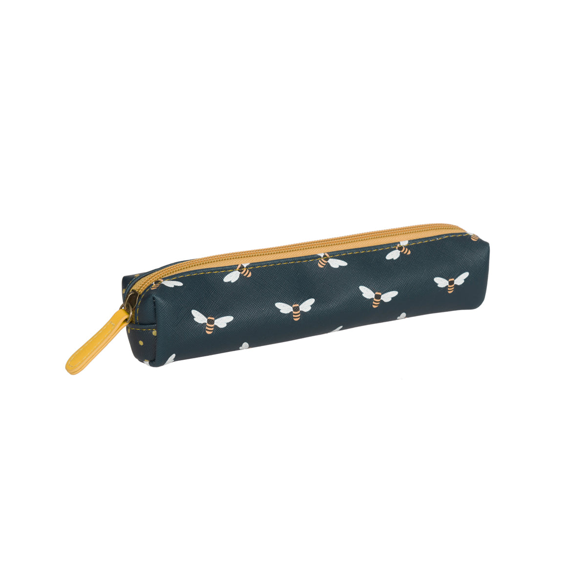 Slimline pencil case bees design