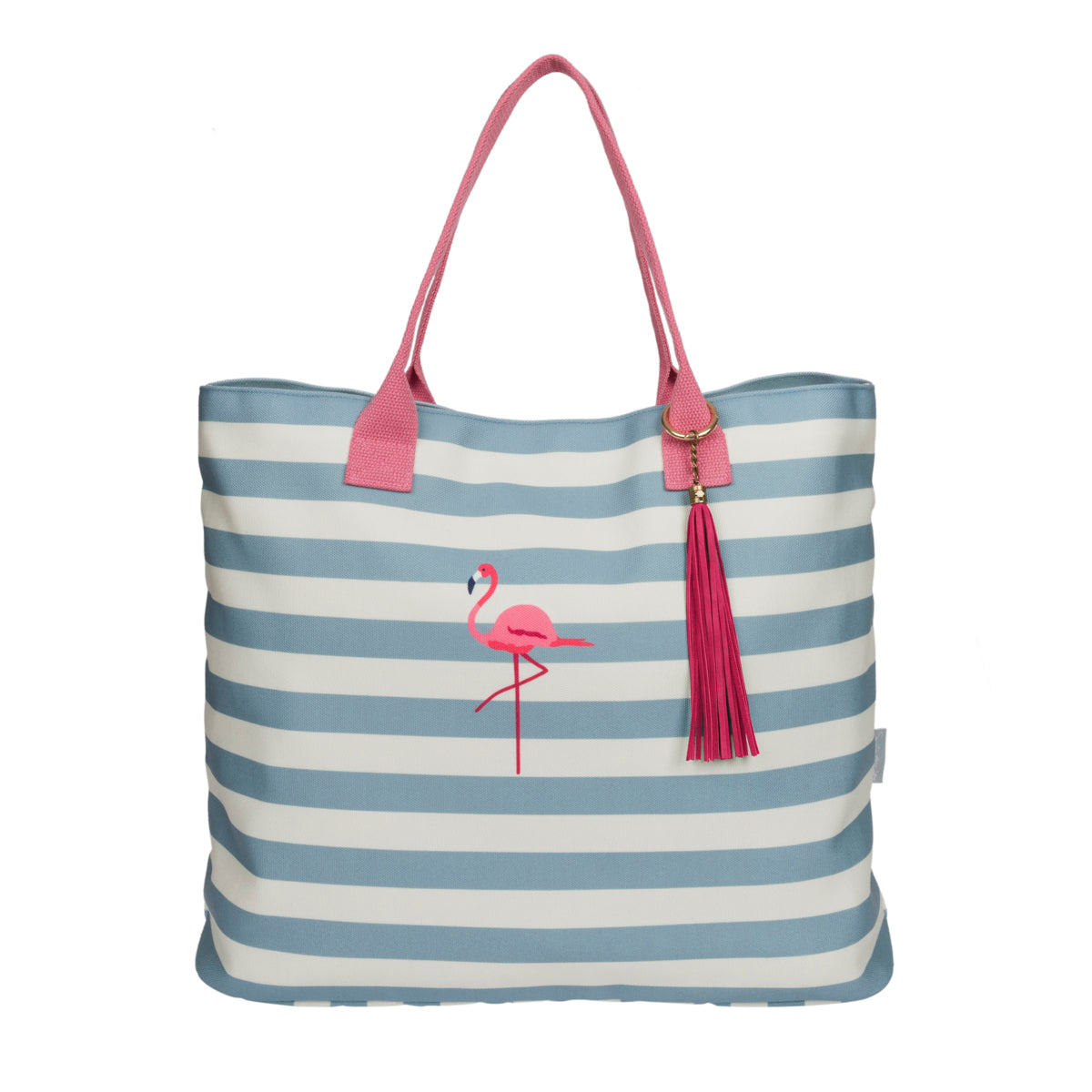 Flamingos Canvas Tote Bag
