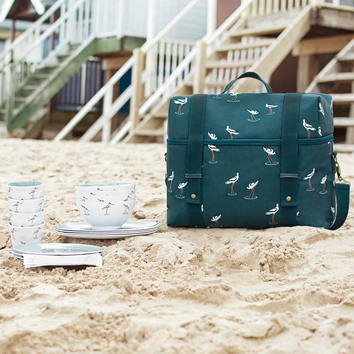 Coastal Birds Picnic Bag