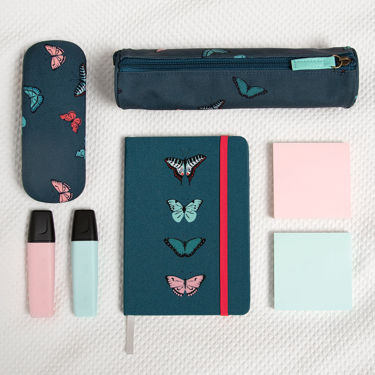 Butterflies Small Fabric Notebook