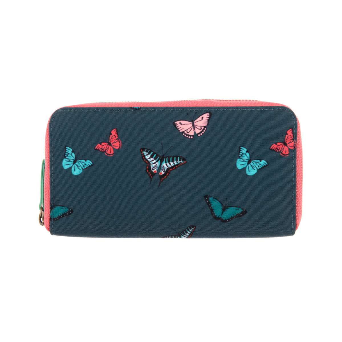 A blue Butterflies Wallet Purse from Sophie Allport.
