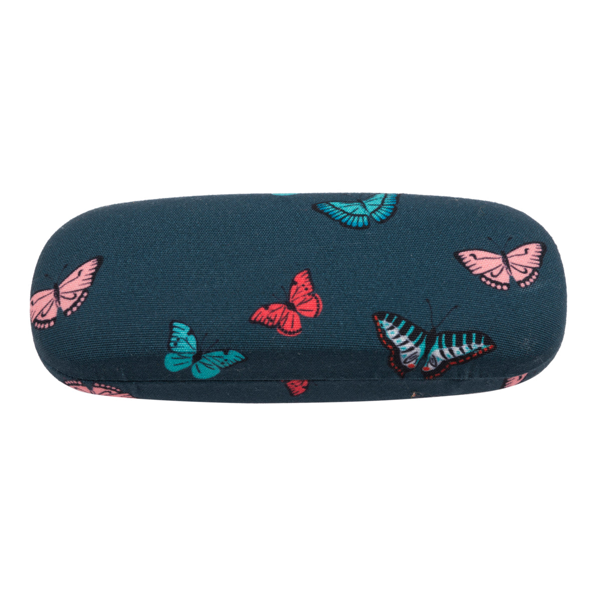 A blue Butterflies Glasses Case by Sophie Allport.