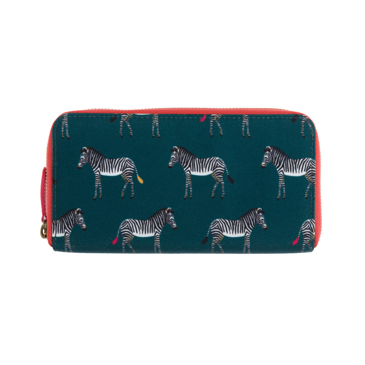 Zebra Polyester Wallet Purse