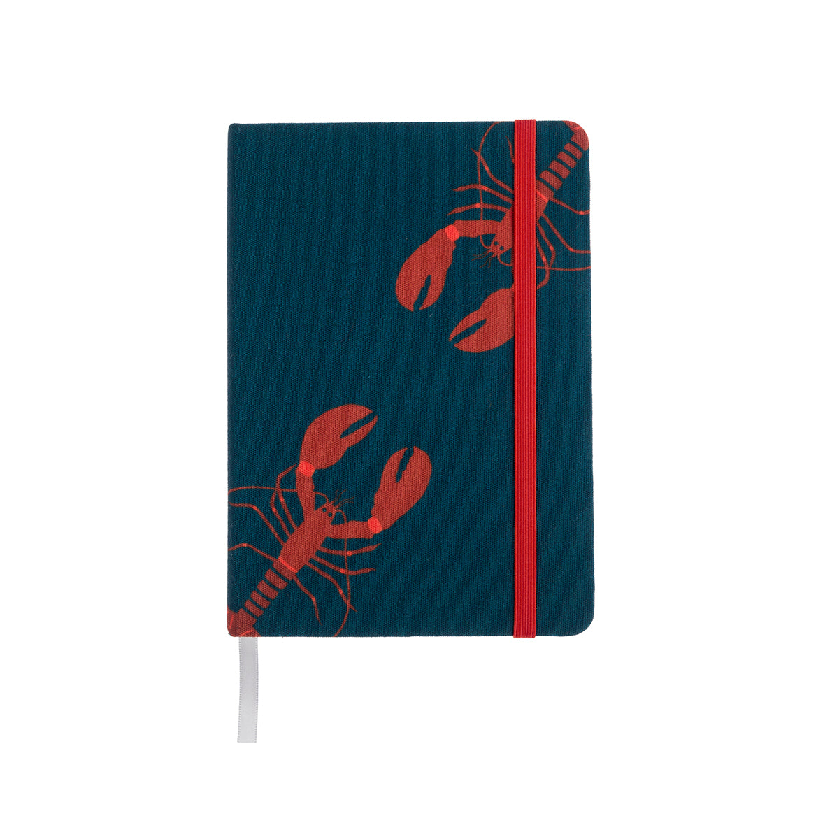 Lobster Small Fabric Notebook