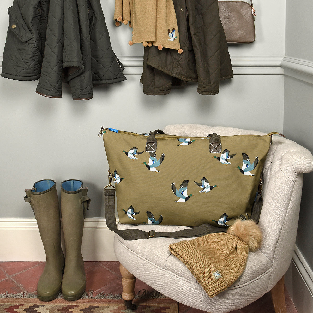 Ducks Weekend Oundle Bag by Sophie Allport