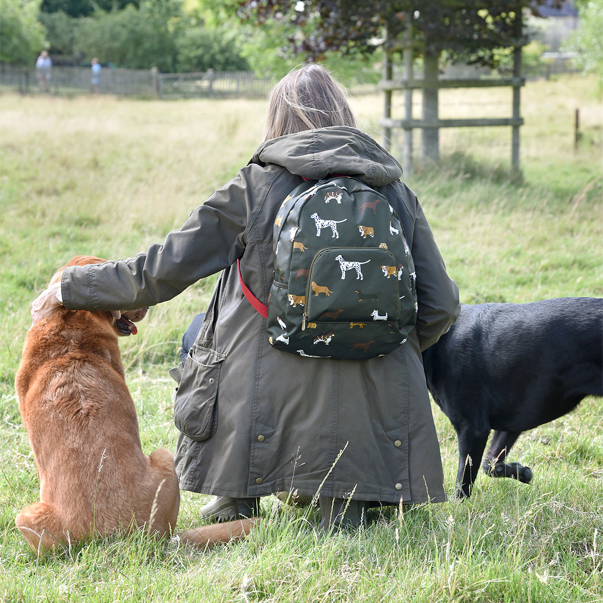 Fetch Folding Rucksack by Sophie Allport