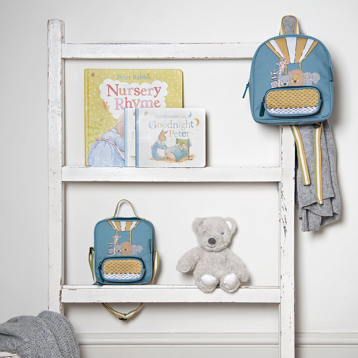 Bears & Balloons Mini Backpack by Sophie Allport