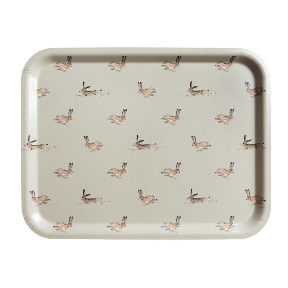 Hare Printed Tray