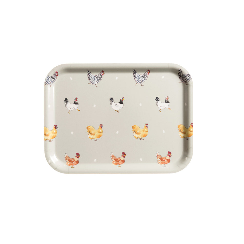 Lay a Little Egg Printed Tray