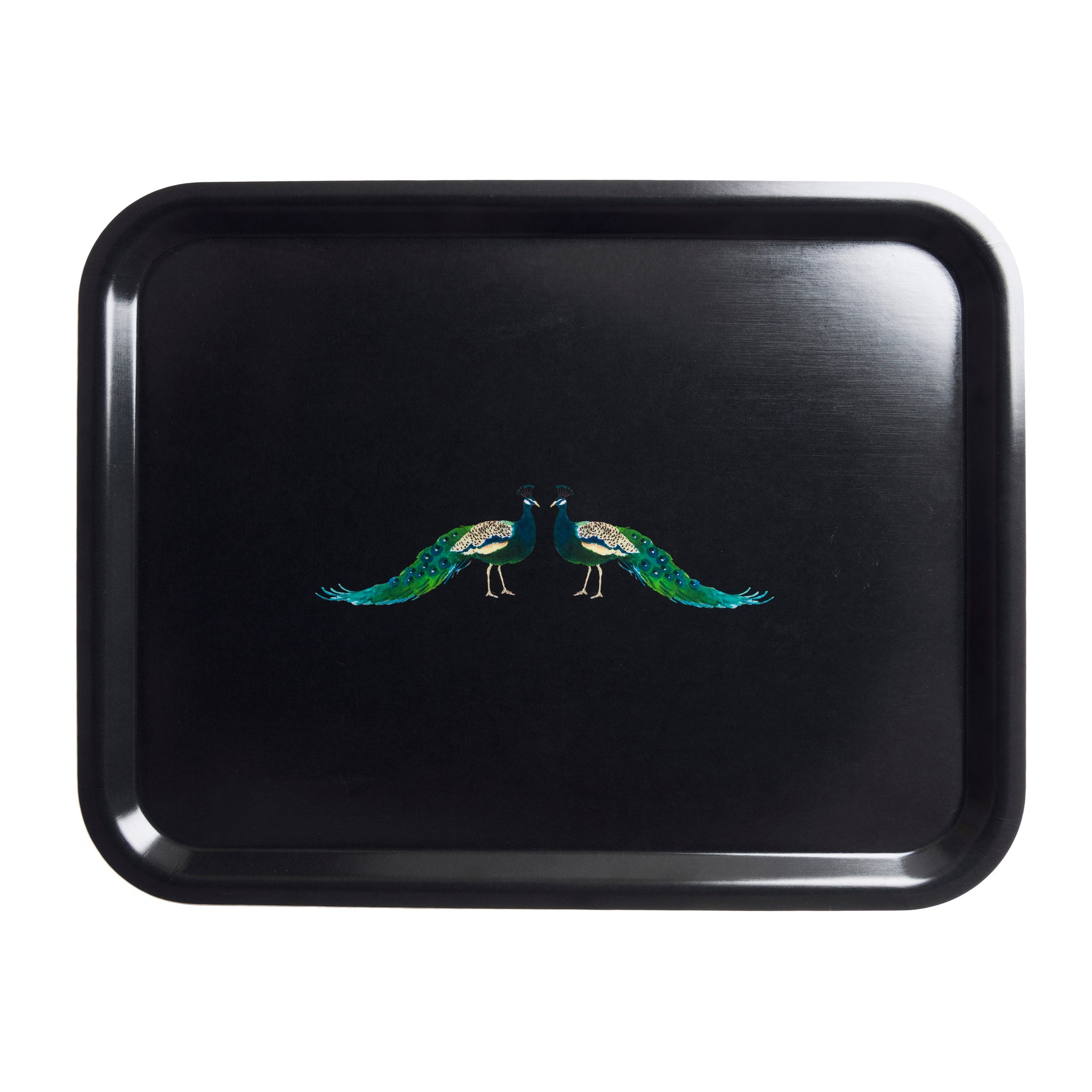 Peacocks Printed Tray