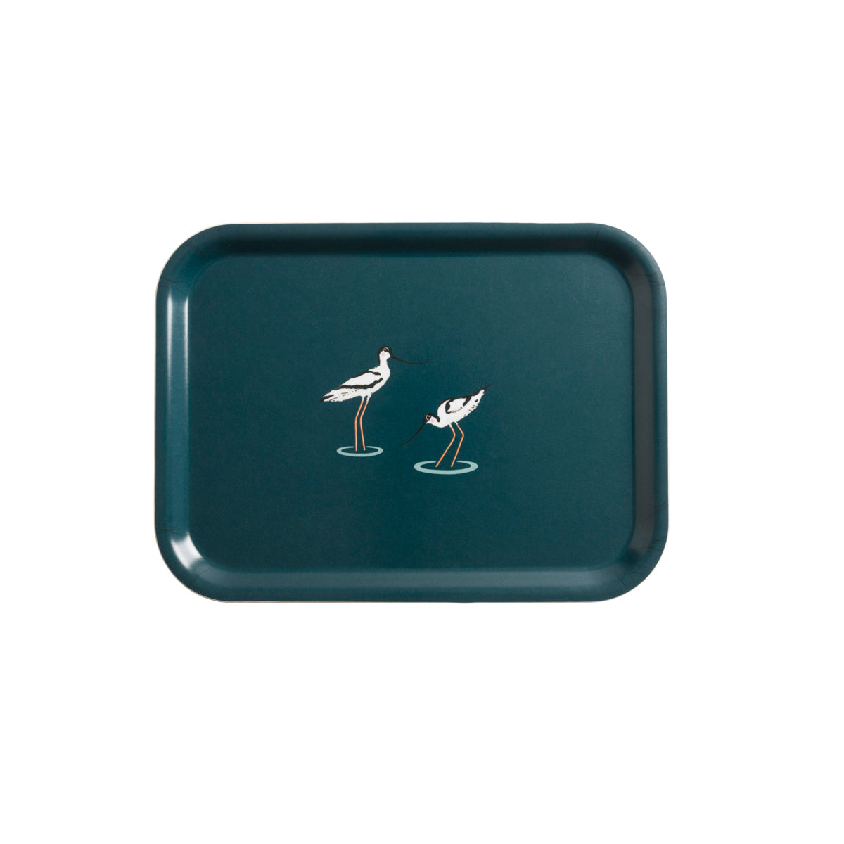 Navy Printed Tray with Sophie Allport's Coastal Birds on