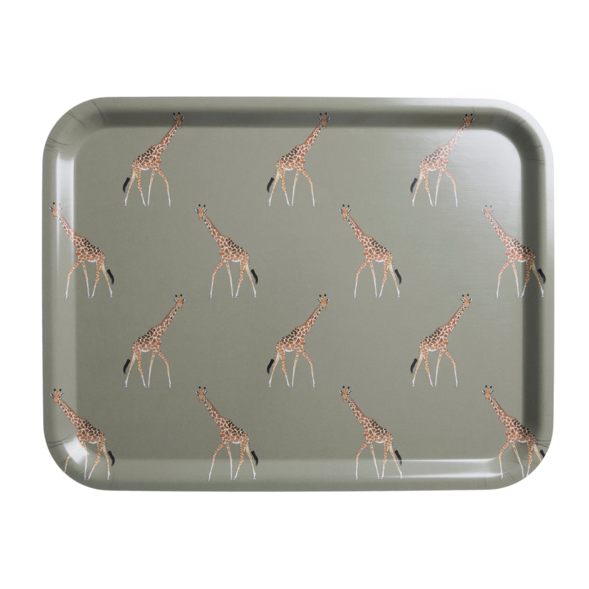 Giraffe Printed Tray Large by Sophie Allport
