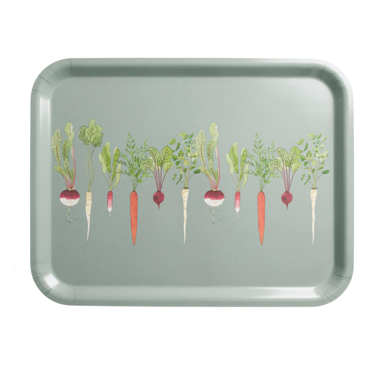 Home Grown Printed Tray Large by Sophie Allport