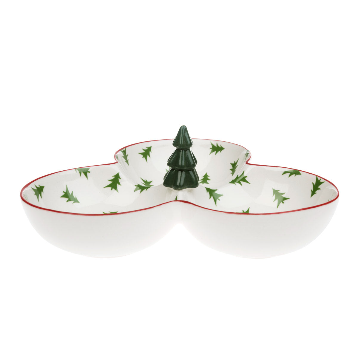 Christmas Trees Trio Nibbles Bowls