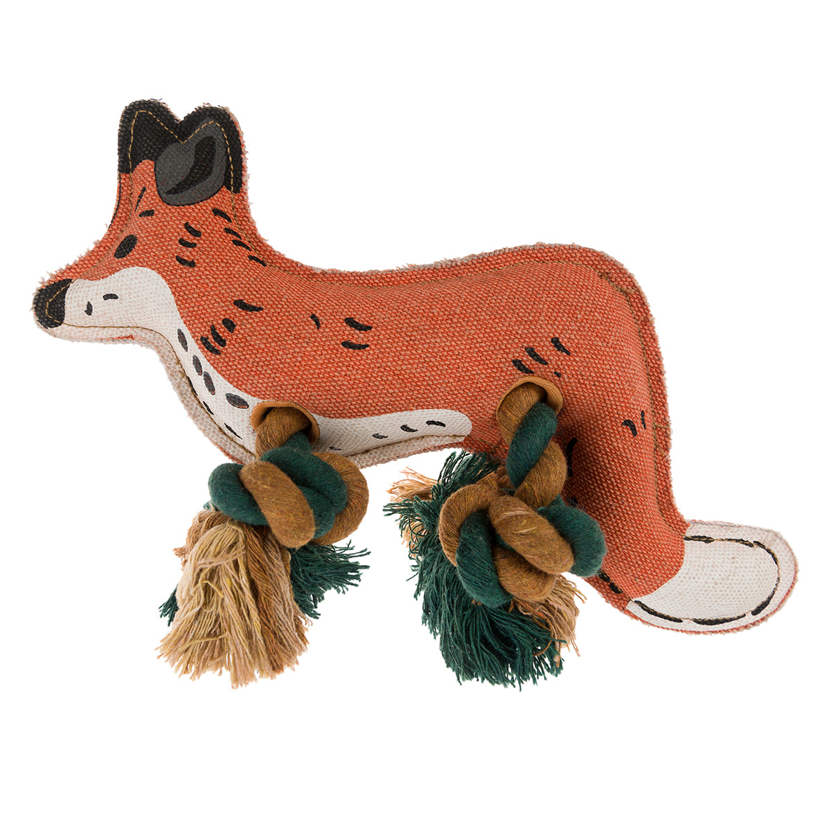 Foxes Dog Toy