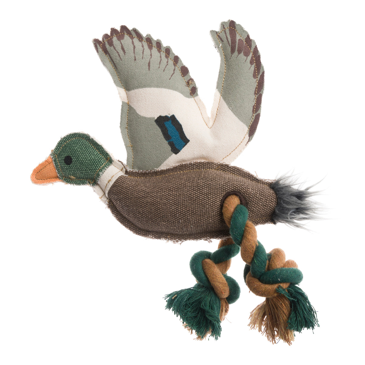 Ducks dog toy by Sophie Allport