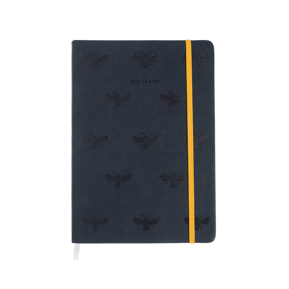 Bees Notebook Faux Leather