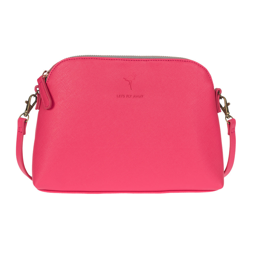Flamingos Mini Shoulder Bag