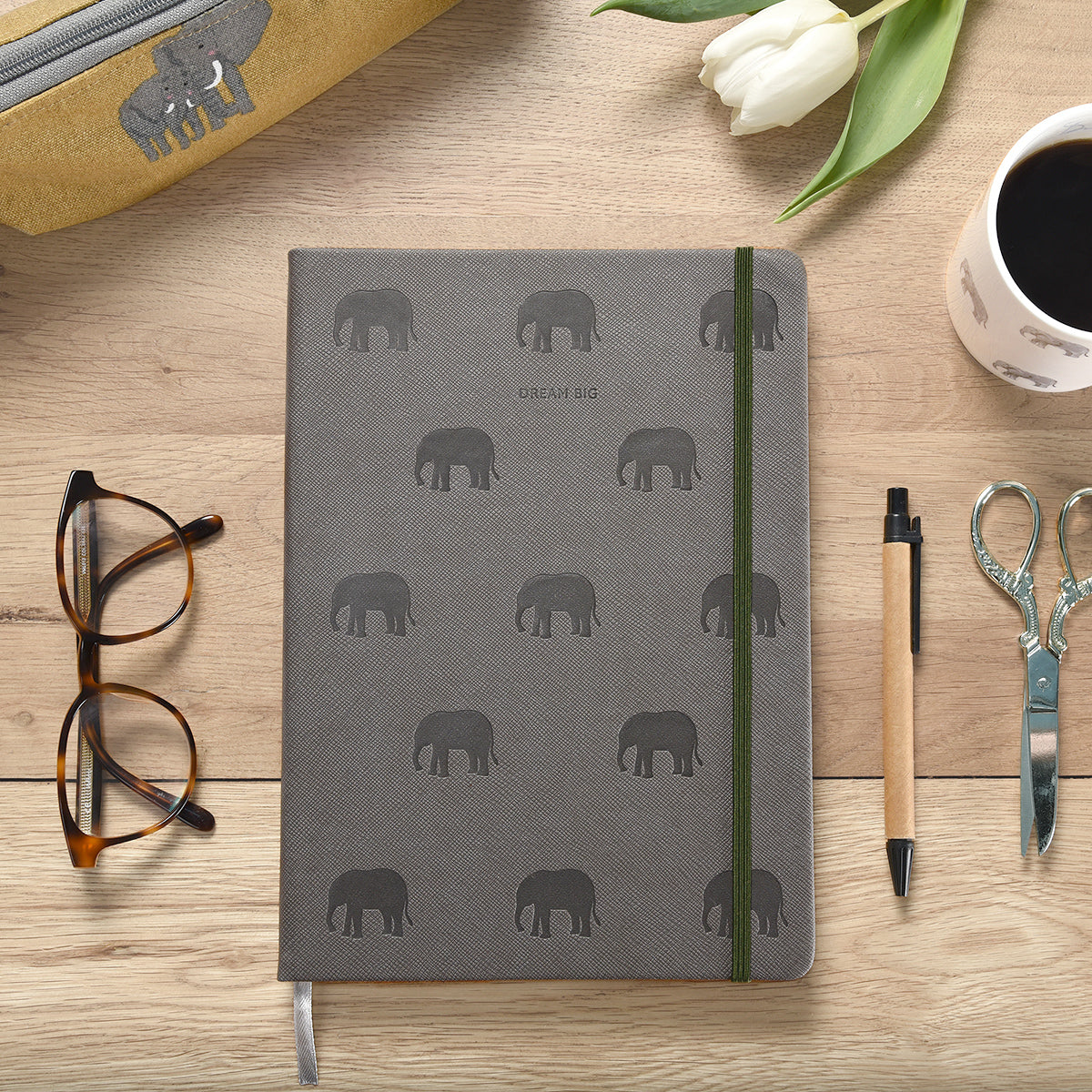 Elephant Notebook by Sophie Allport