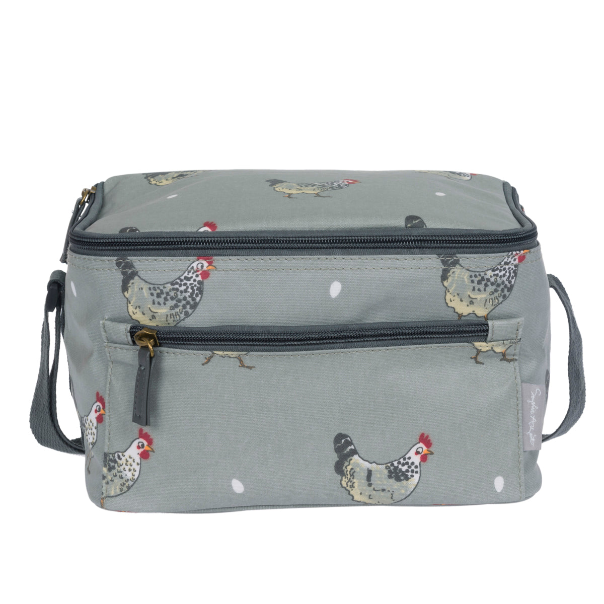 Chicken Oilcloth Lunch Bag