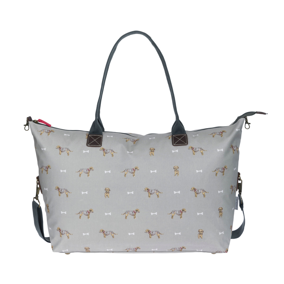 Terrier Oilcloth Weekend Bag by Sophie Allport