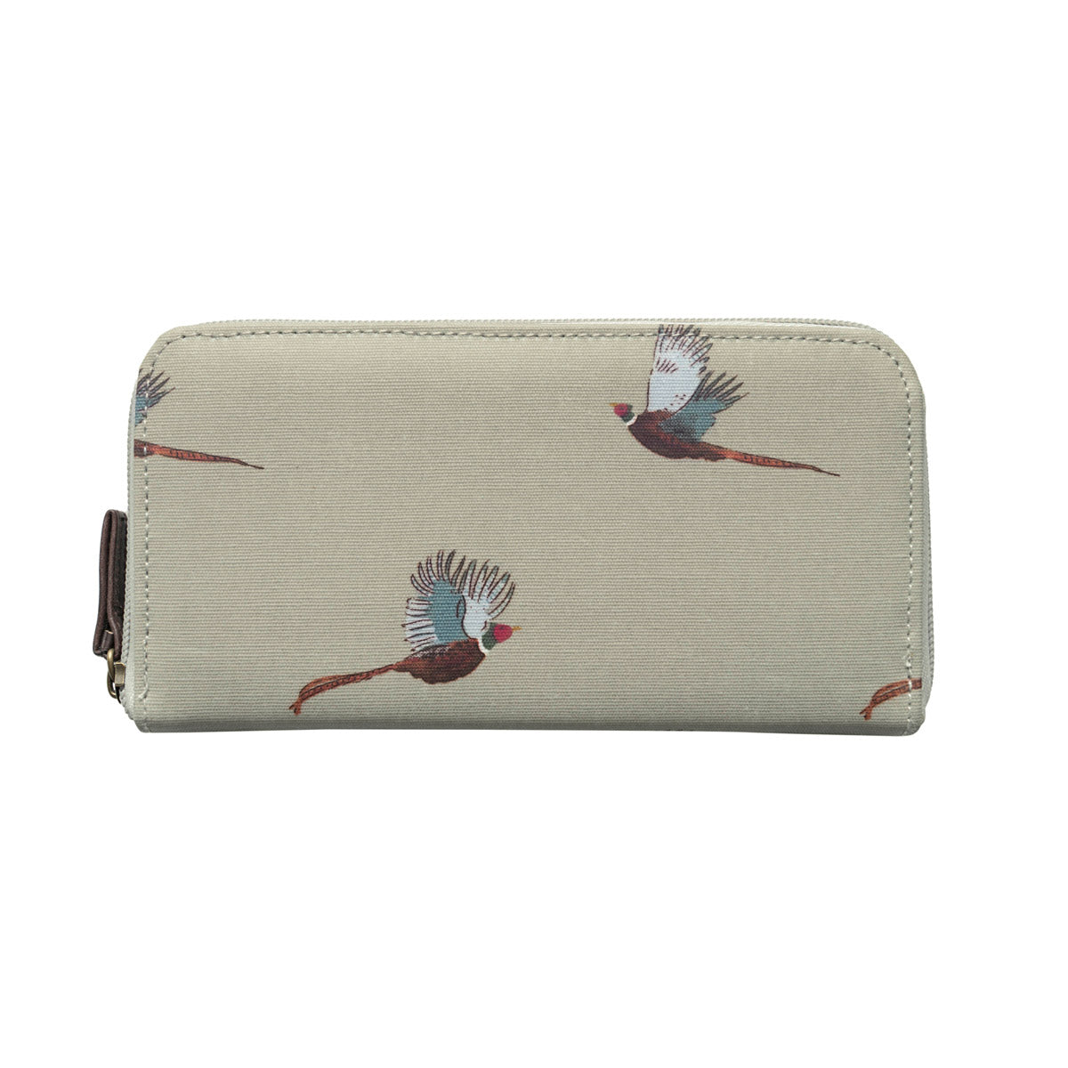 Pheasant Oilcloth Wallet