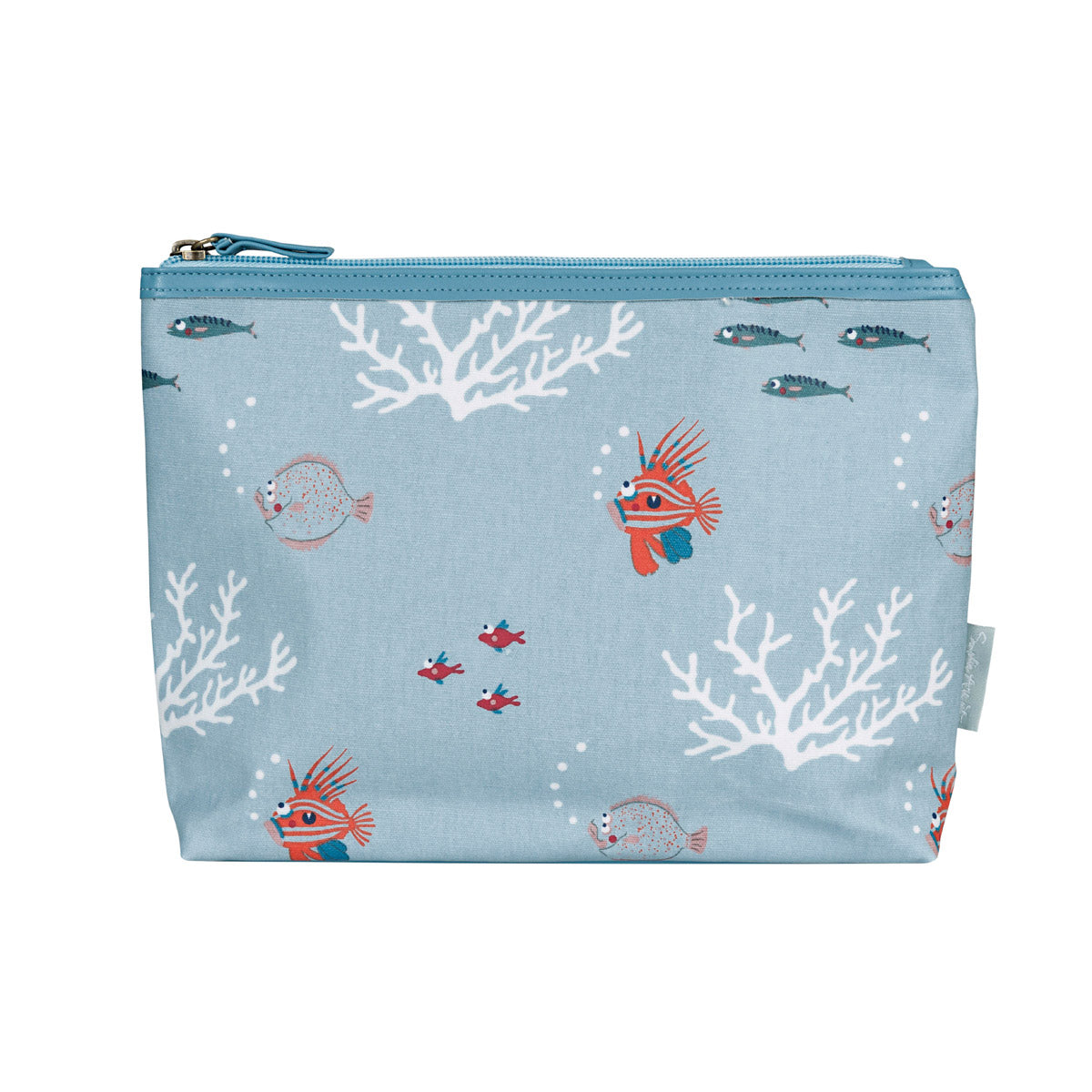 What a Catch! Oilcloth Wash Bag