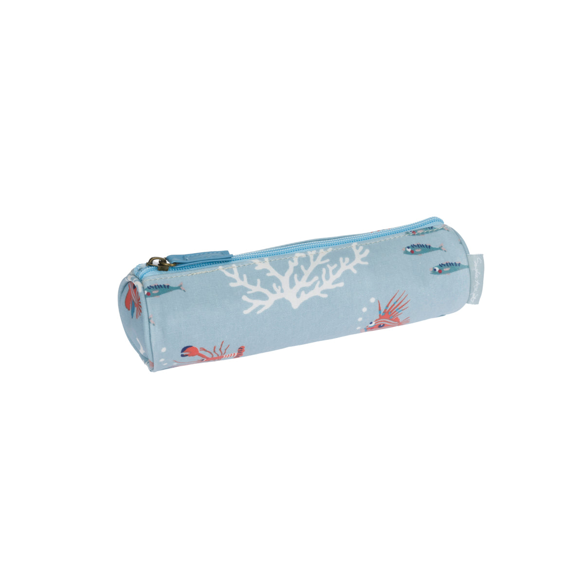 What a Catch Oilcloth Pencil Case
