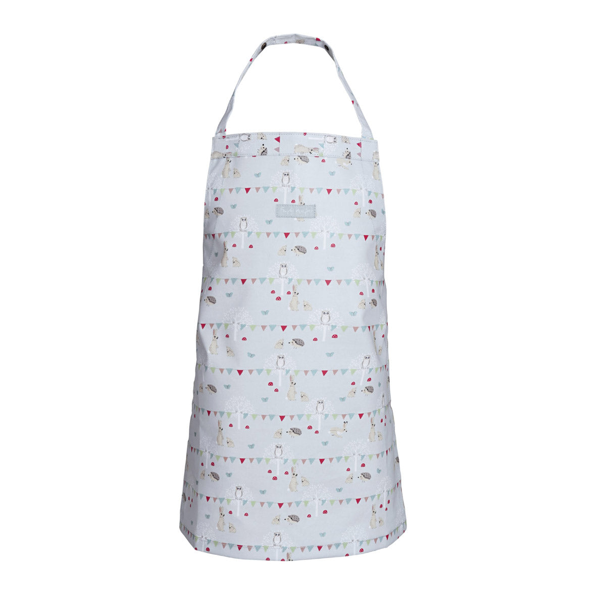 Woodland Party Kids Oilcloth Apron