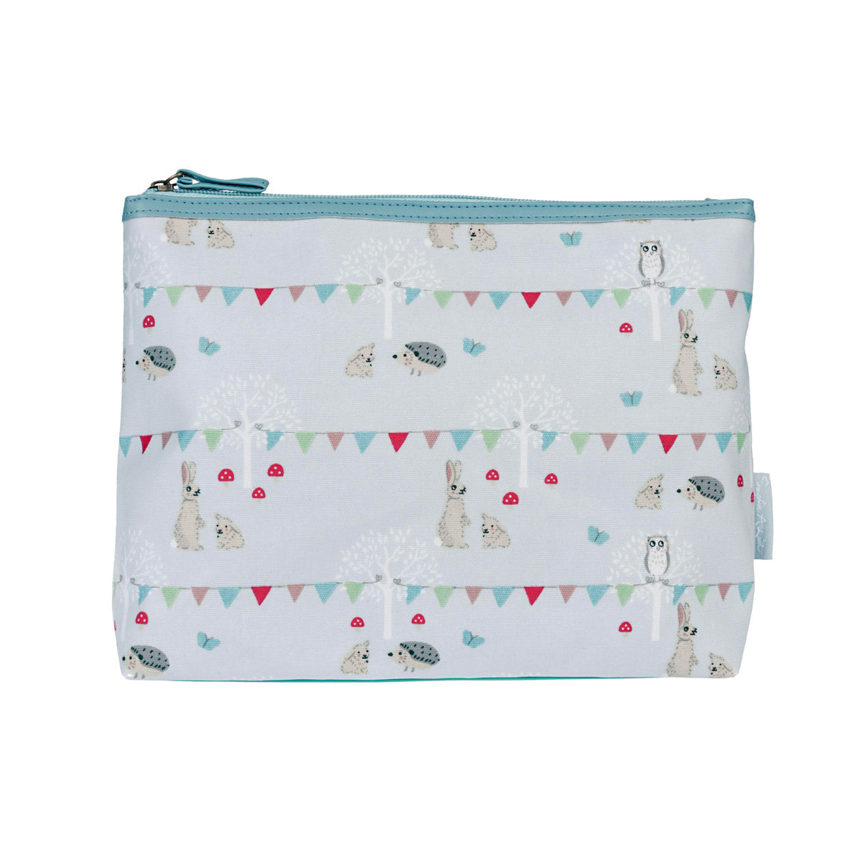 Woodland Party Oilcloth Wash Bag