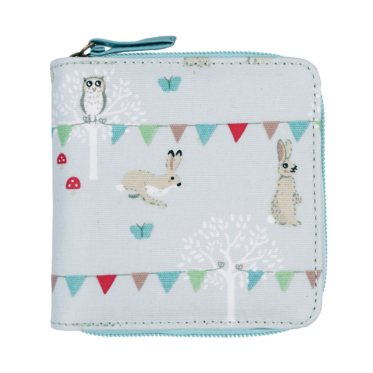 Woodland Party Oilcloth Kids Wallet